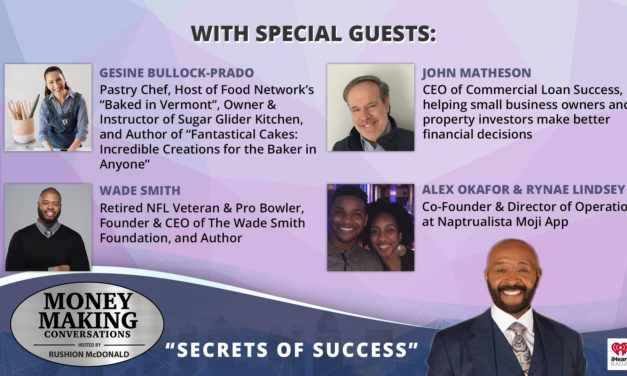 Money Making Conversations: Gesine Bullock-Prado, John Matheson, Wade Smith, Alex Okafor & Rynae Lindsey