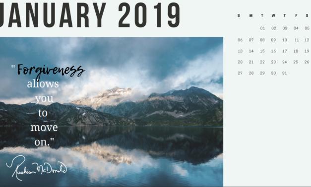 Rushion McDonald 2019 Motivational Calendar