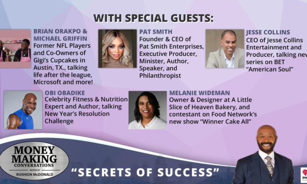 Money Making Conversations: Brian Orakpo, Pat Smith, Jesse Collins, Obi Obadike, Melanie Wideman