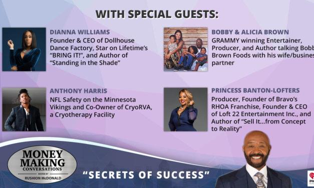 Money Making Conversations: Dianna Williams, Anthony Harris, Bobby & Alicia Brown, Princess Banton-Lofters