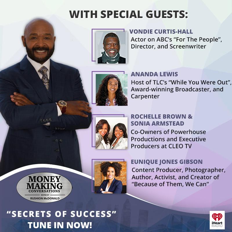 Money Making Conversations: Vondie Curtis-Hall, Rochelle Brown
