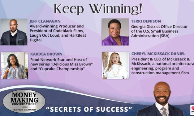 Money Making Conversations: Kardea Brown, Jeff Clanagan, Terri Denison & Cheryl McKissack Daniel