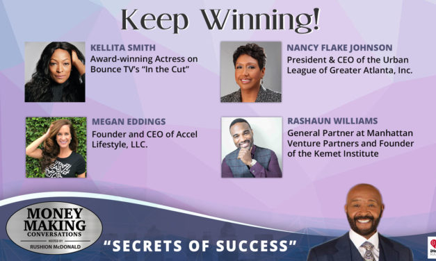 Money Making Conversations: Kellita Smith, Nancy Flake Johnson, Megan Eddings & Rashaun Williams