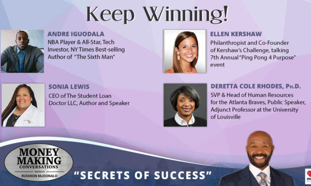 Money Making Conversations: Andre Iguodala, Ellen Kershaw, Sonia Lewis & DeRetta Cole Rhodes, Ph.D.