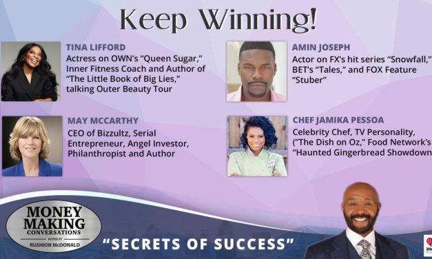 Money Making Conversations: Chef Jamika Pessoa, Amin Joseph, Tina Lifford & May McCarthy