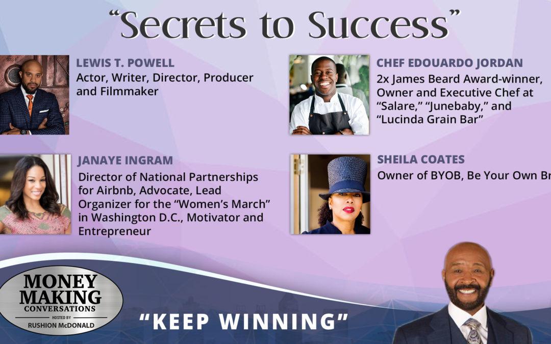 Money Making Conversations: Lewis T. Powell, Chef Edouardo Jordan, Janaye Ingram & Sheila Coates