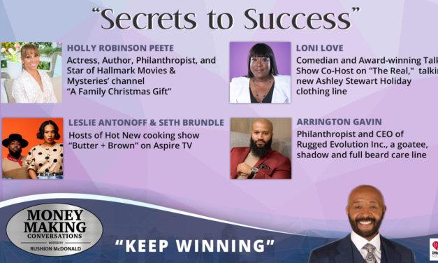 Money Making Conversations: Loni Love, Holly Robinson Peete, Arrington Gavin, Leslie Antonoff & Seth Brundle