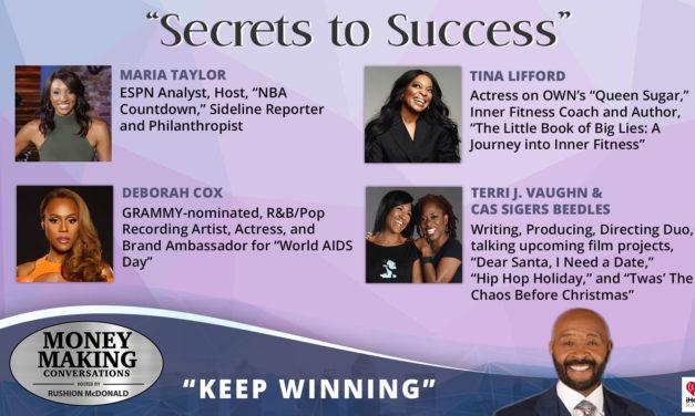 Money Making Conversations: Maria Taylor, Tina Lifford, Deborah Cox, Terri J. Vaughn & Cas Sigers-Beedles