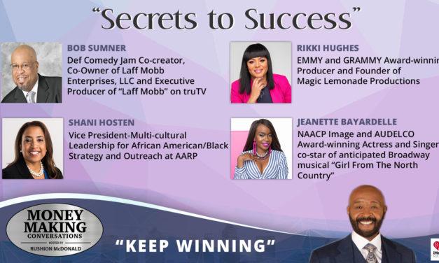 Money Making Conversations: Rikki Hughes, Bob Sumner, Jeannette Bayardelle & Shani Hosten