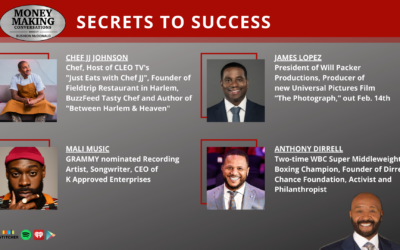 Money Making Conversations: Chef JJ, James Lopez, Mali Music & Anthony Dirrell