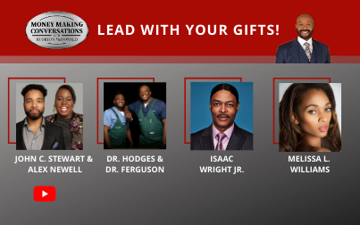 John Clarence Stewart & Alex Newell, Melissa L. Williams, Isaac Wright Jr., Dr. Vernard Hodges & Dr. Terrence Ferguson