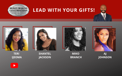 Shantel Jackson, AJ Johnson, Teri Ijeoma & Miko Branch