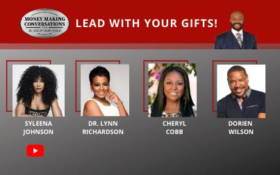 Syleena Johnson, Dr. Lynn Richardson, Cheryl Cobb & Dorien Wilson