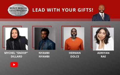 "Adriyan Rae, Nyambi Nyambi, Mychel ""Snoop"" Dillard & Herman Dolce"