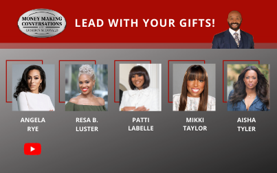 Angela Rye, Patti LaBelle, Aisha Tyler, Mikki Taylor & Resa B. Luster