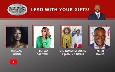 Meagan Good, Keith David, Teresa Caldwell, Dr. Tammira Lucus & Jasmine Simms
