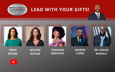 George Lopez, Towanda Braxton, Kron Moore, Melissa Butler & Dr. Shaun Woodly