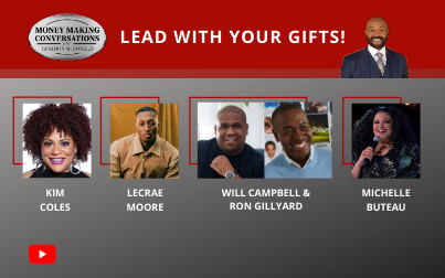 Lecrae, Kim Coles, Will Campbell, Ron Gillyard & Michelle Buteau