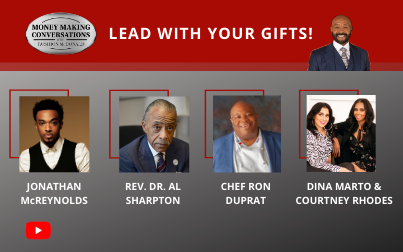 Jonathan McReynolds, Reverend Al Sharpton, Chef Ron Duprat, Dina Marto & Courtney Rhodes