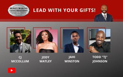 "CJ McCollum, Jody Watley, Jahi Winston & Todd ""TJ"" Johnson"