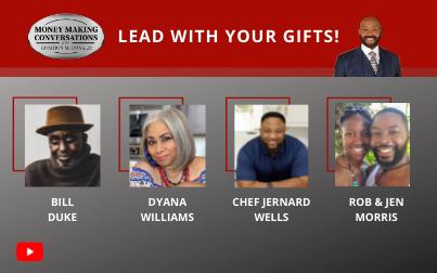 Legendary Actor Bill Duke, iconic On-Air DJ Personality Dyana Williams, Chef Jernard Wells, and Rob & Jen Morris