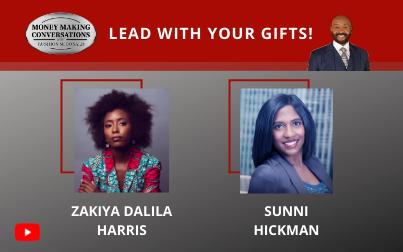 NYT Best Selling author Zakiya Dalila Harris & Sunni Hickman of VP of Marketing & Sales of The Harlem Globetrotters