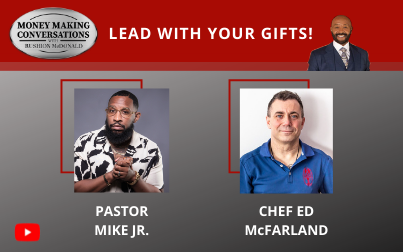 Stellar Award winning Pastor Mike Jr. and NYC Lobster Chef Ed McFarland