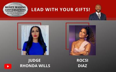 Judge Rhonda Wills, Host of Relative Justice reality court show & Emmy-winning TV Personality Rocsi Diaz