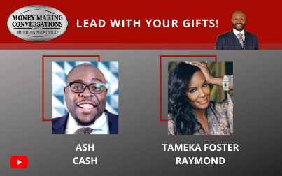 """Wealth Coach, Host of """"Inside the Vault,"""" and Author Ash Cash & celebrity stylist, Tameka Foster Raymond"""